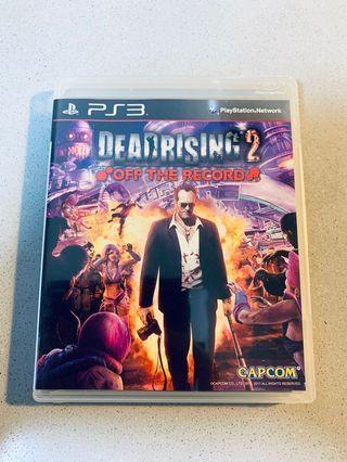 Sony PlayStation 3 PS3 Dead Rising 2 Off the Record