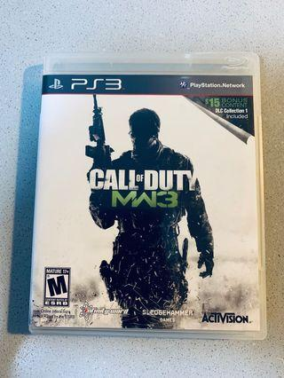 Sony PlayStation 3 PS3 Call of Duty Modern Warfare 3