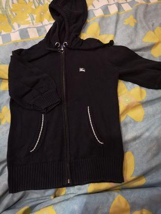 Burberry hoodie jacket
