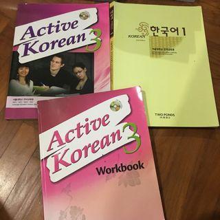 [WTS] Active korean, SNU, ttmik textbooks