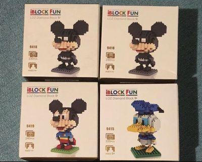 BNIB Loz Diamond Blocks