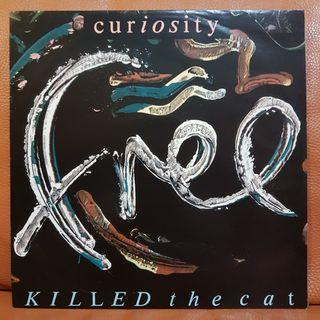 Curiousity Killed The Cat - Free  Vinyl Record