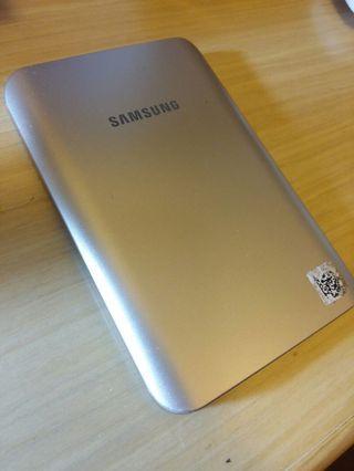 Samsung 型格香檳金手機充電器