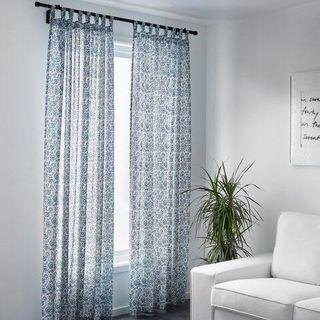 Ikea Floral Curtains #RAYAHOME 2 pcs
