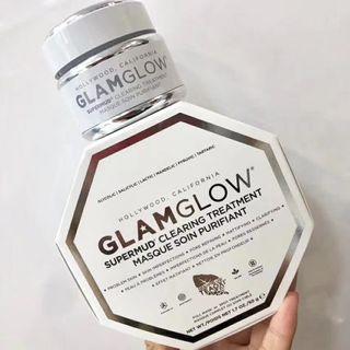 [現貨]GlamGlow格萊美小白罐清潔面膜50g