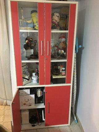 Display Cabinet Glass or Book Shelf