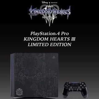 PS4 Pro- PlayStation®4 Pro KINGDOM HEARTS III連遊戲會藉
