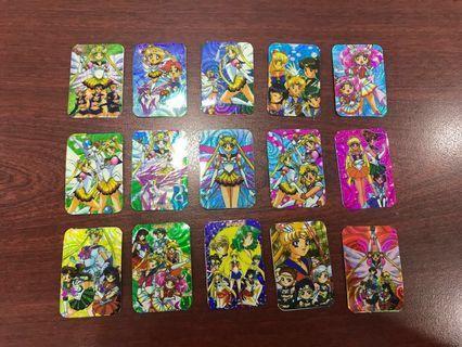 Mini Sailormoon Prism Sticker Cards 🌙