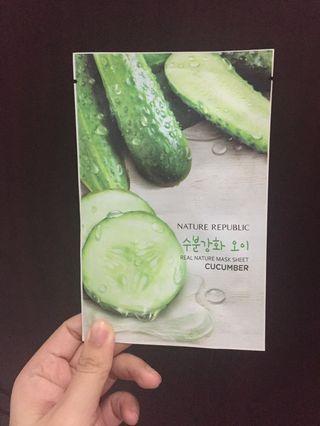 Cucumber Masker Nature Republic