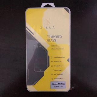Zilla 2.5D Tempered Glass Curved for iPhone 7/8 Plus