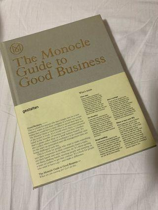 🚚 Th Monocle Guide to Good Business