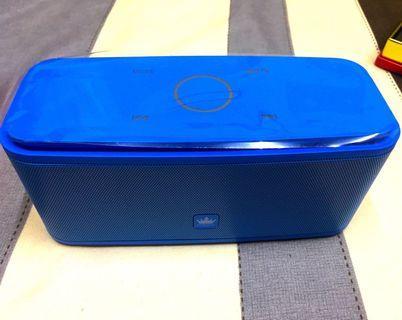 藍芽喇叭-金冠F8(水藍色,500元含運)