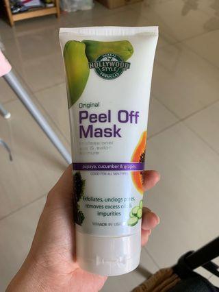 #BAPAU Peel off mask Holywood