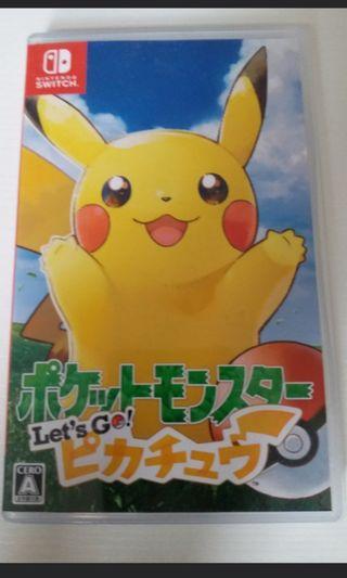 Pokemon 比卡超 switch