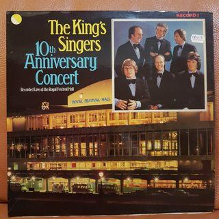 (Mint) The King's Singers 10th Anniversary Concert  Vinyl Record