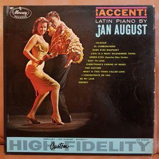 Latin Piano by Jan August Vinyl Record