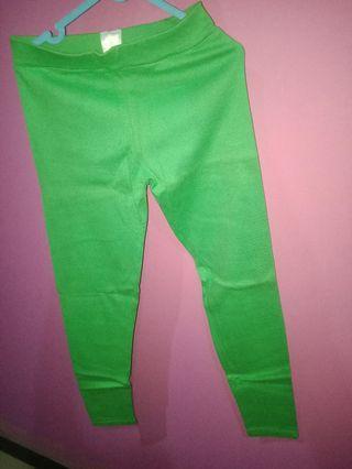 #BAPAU celana legging hijau