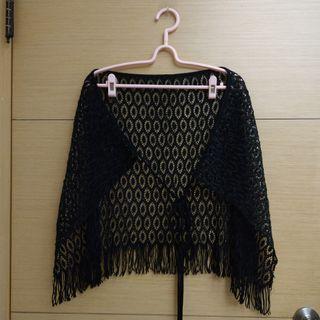 黑色造型網狀莎籠