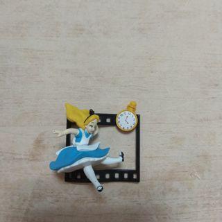 🚚 迪士尼 底片 愛麗絲 公仔 扭蛋 玩具