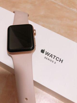 Apple Watch Serious 3 38mm 粉紅色
