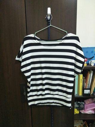 🚚 黑白條紋衣服