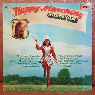 (Mint) James Last - Happy Marching  Vinyl Record