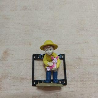 🚚 迪士尼 底片 小熊維尼 公仔 扭蛋 玩具