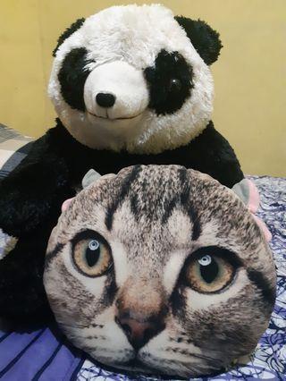 Buy Boneka Panda Besar get a cat