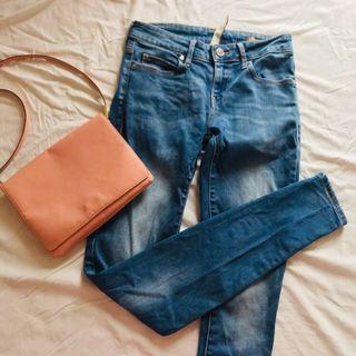 Mango Jeans Mango 牛仔褲 牛仔長褲 約25吋腰