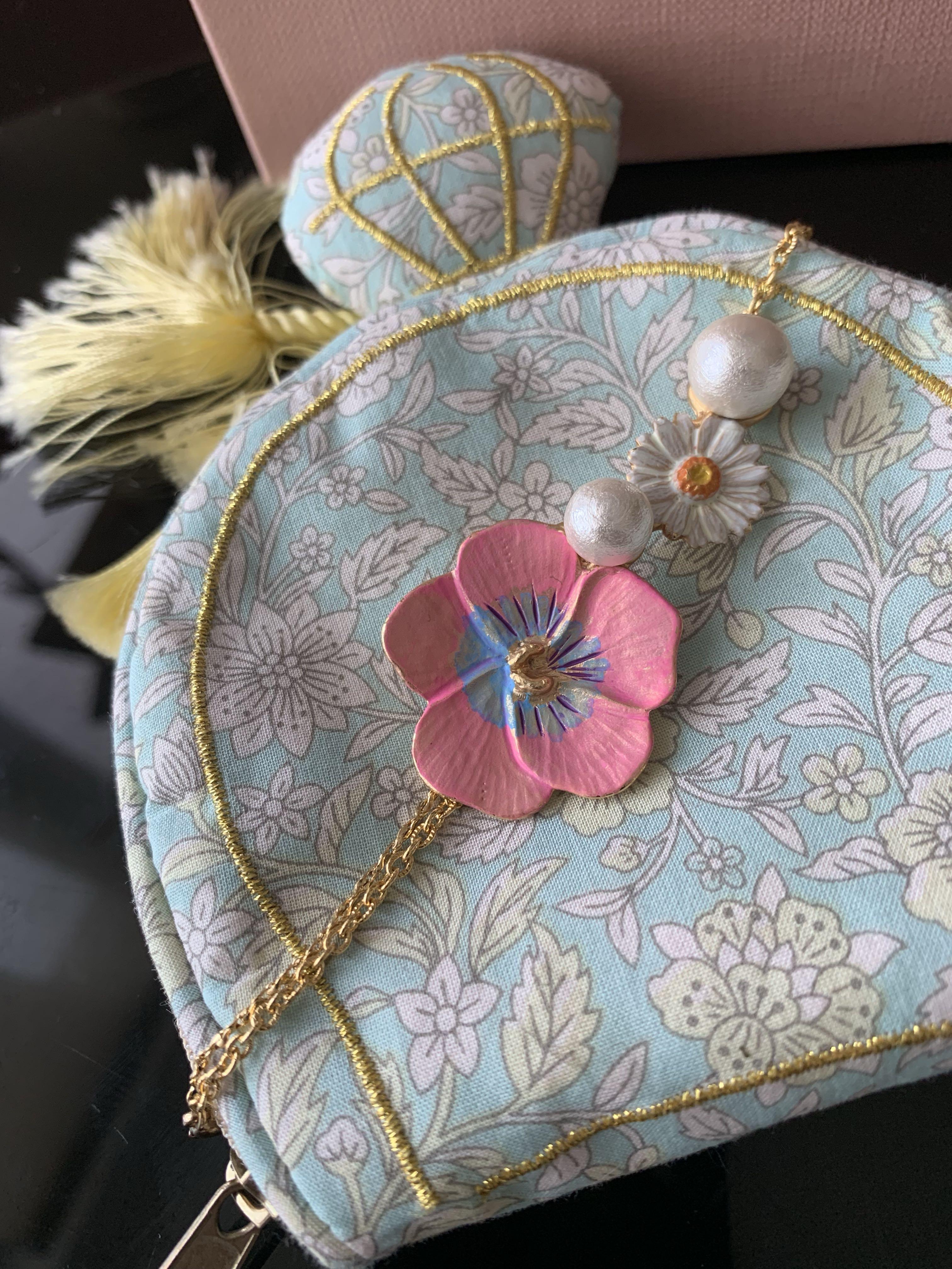 【日飾放題】日本正品 Palnart Poc Bracelet 菊花珍珠手鏈 II Kaza II Les Nereides