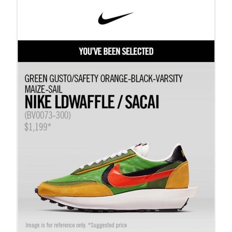 現貨 SACAI x Nike LDWaffle US 6