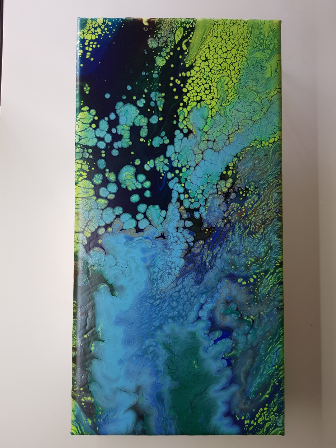 Acrylic Abstract 12 10x20 Inch Canvas Board Design Craft Art