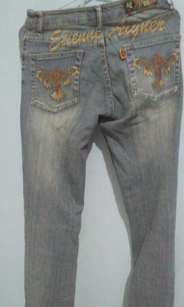 #BAPAU celana jeans cutbray