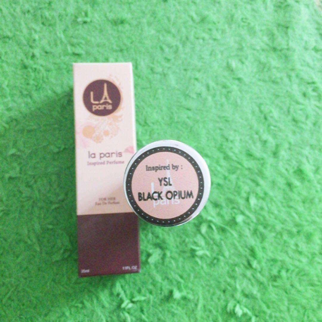 #BAPAU La Paris Inpired Parfume by YSL Black Opium 35ml