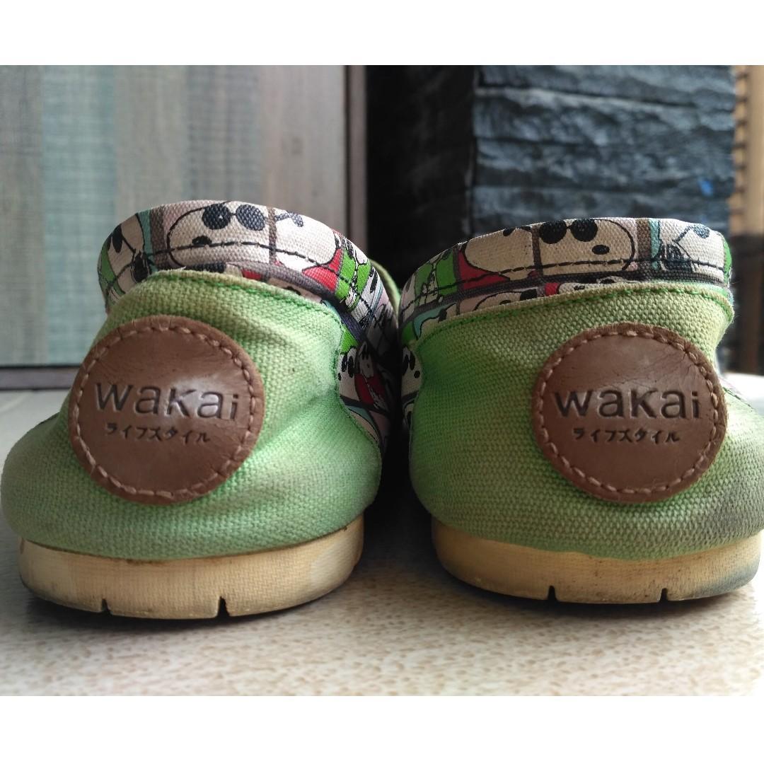 #BAPAU Sepatu Wakai Original versi Snoopy