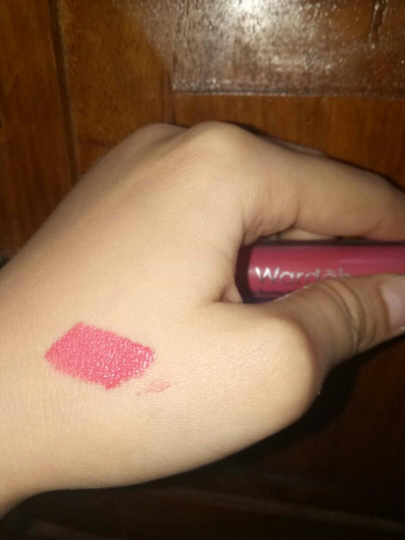 #BAPAU Wardah Exclusive Matte Lip Cream no 8