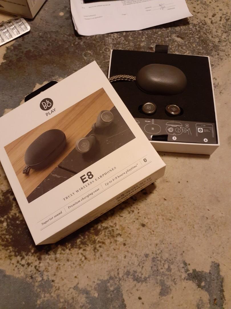 50e0f91cdca Beoplay E8 grey, Electronics, Audio on Carousell