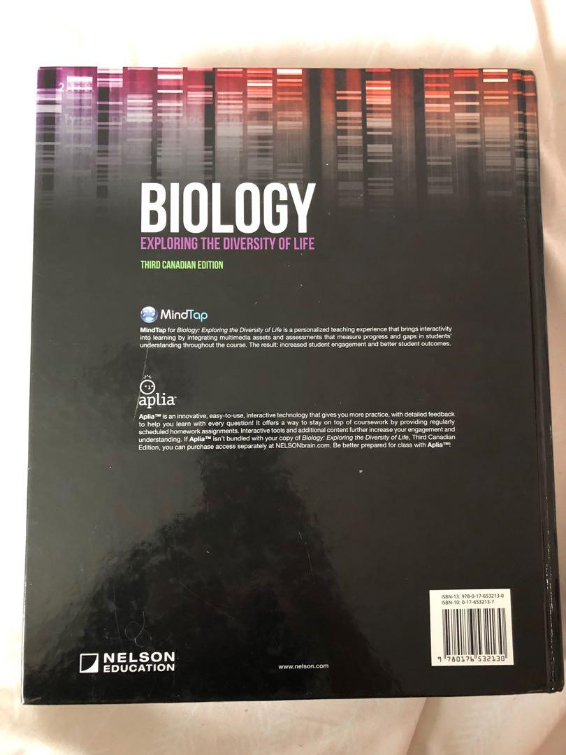Biology:Exploring the Diversity of Life (3rd Canadian Edition)