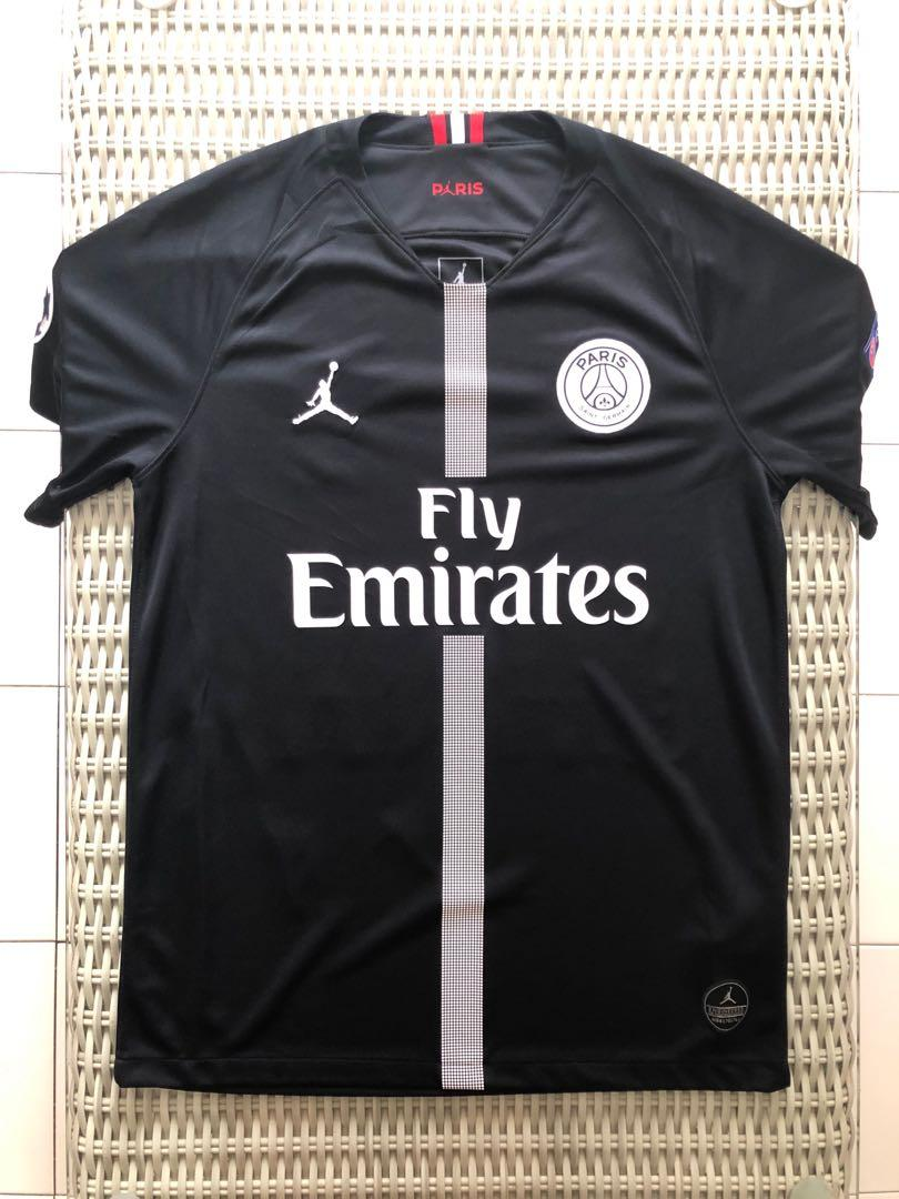 best sneakers 7e89c bb335 BN Nike💯% Authentic Air Jordan black Paris Saint Germain ...
