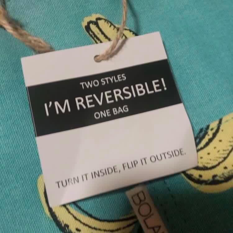 Bolak Balik Reversible Tote Bag #ramadansale