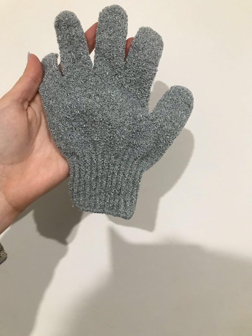 brand new exfoliating glove