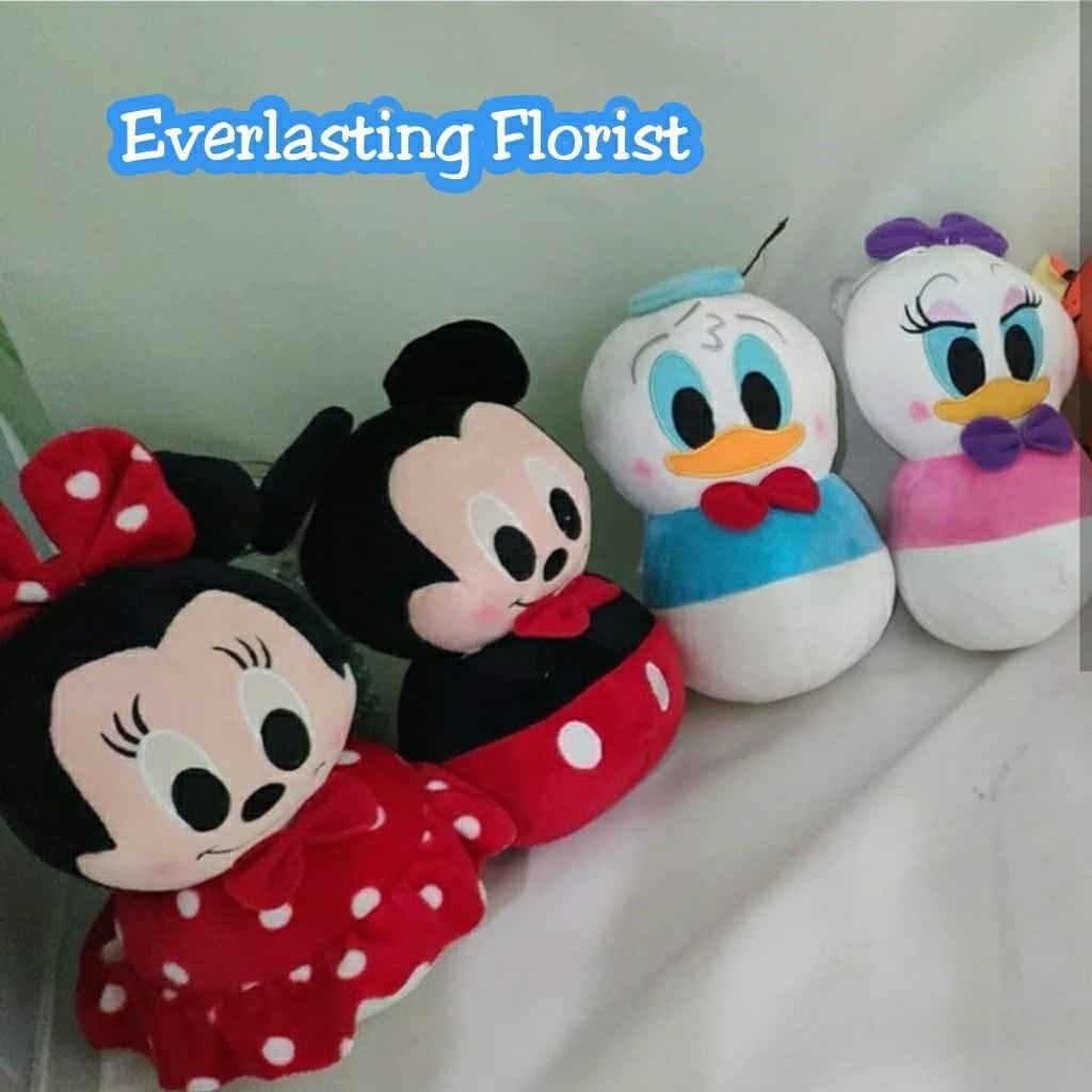 Bucket Boneka Tsum Tsum Request Custom Buket Bouquet Bunga Wedding Wisuda Engaged Hadiah Kado Valentine Rangkaian Kembang Flower Doll Disney