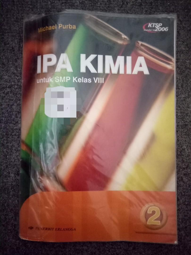 Buku Kimia kelas 2 SMP