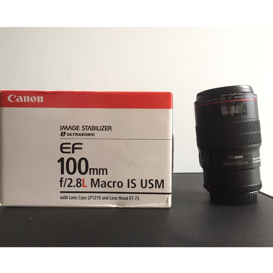 Canon 100mm f2.8 L