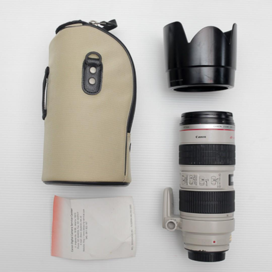 CANON 70-200mm f2.8 IS USM
