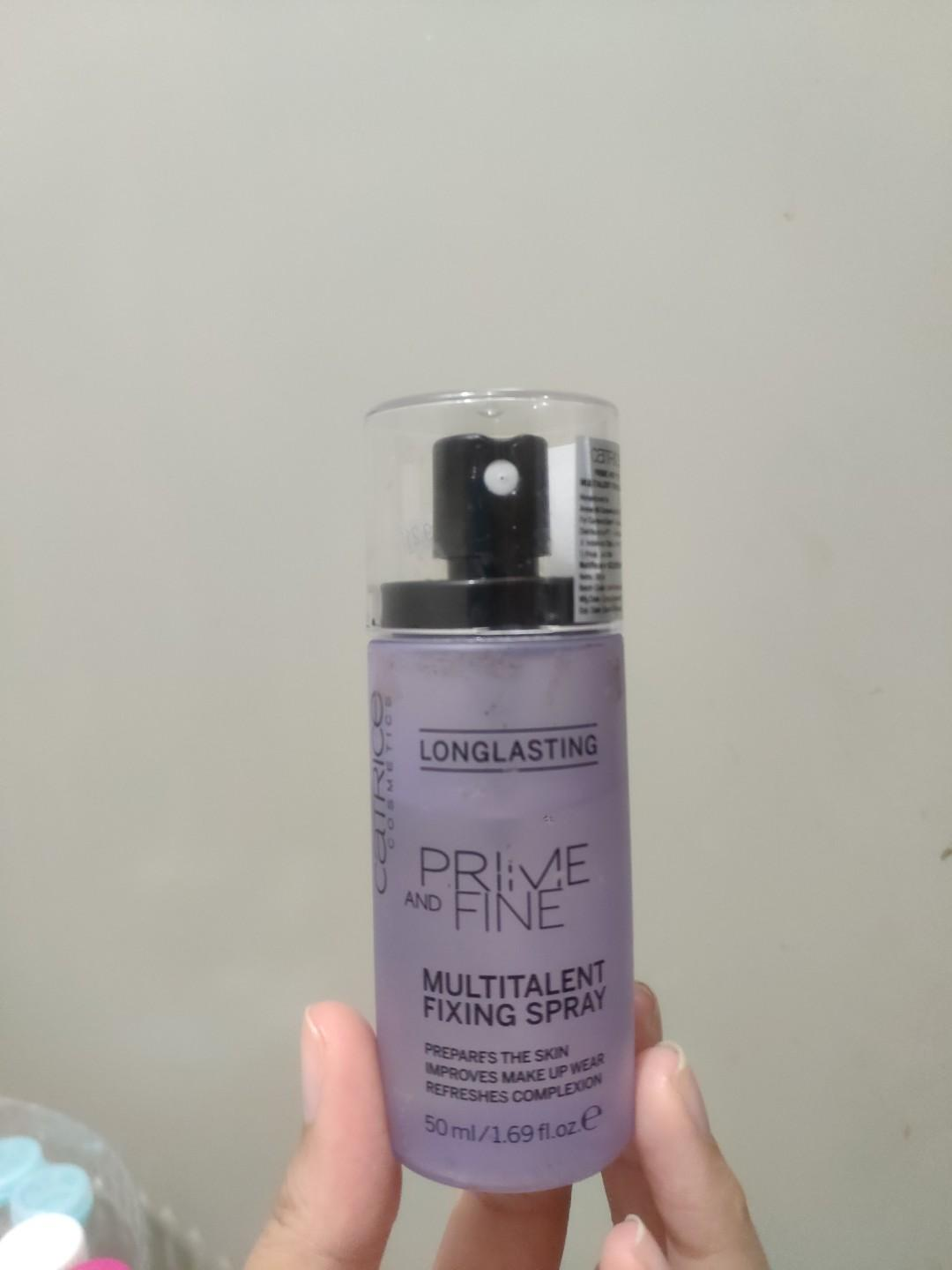 Catrice Long Lasting Prime and Fine Multitalent Fixing Spray