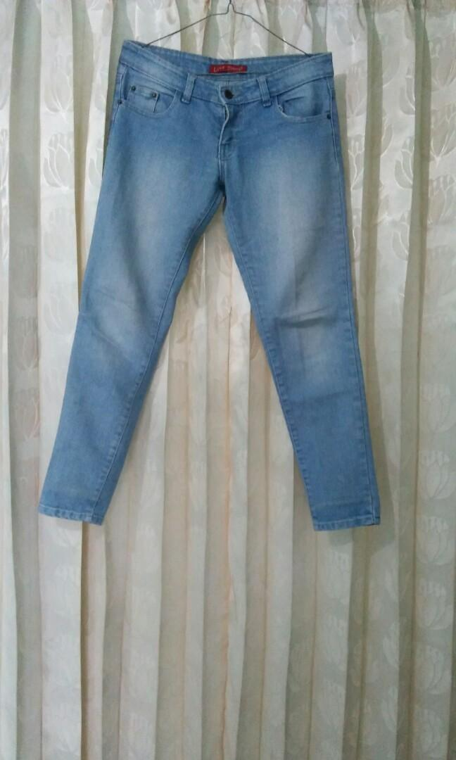(PRELOVED) Jeans Light Blue