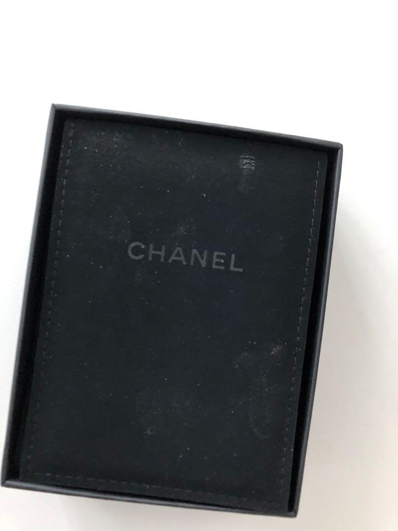 Chanel Necklace Box with Swede Folder