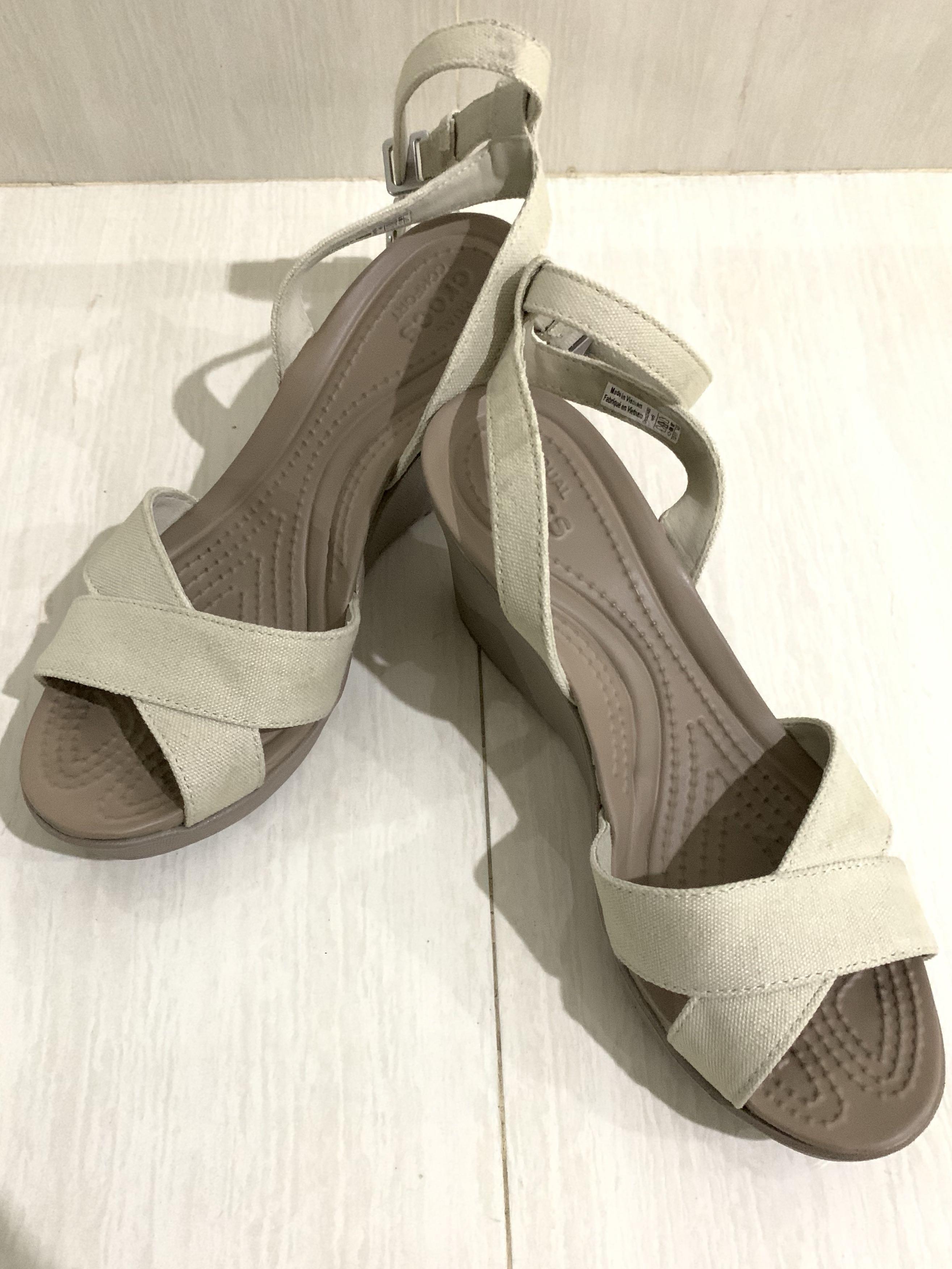 Crocs Heel Colour Khaki