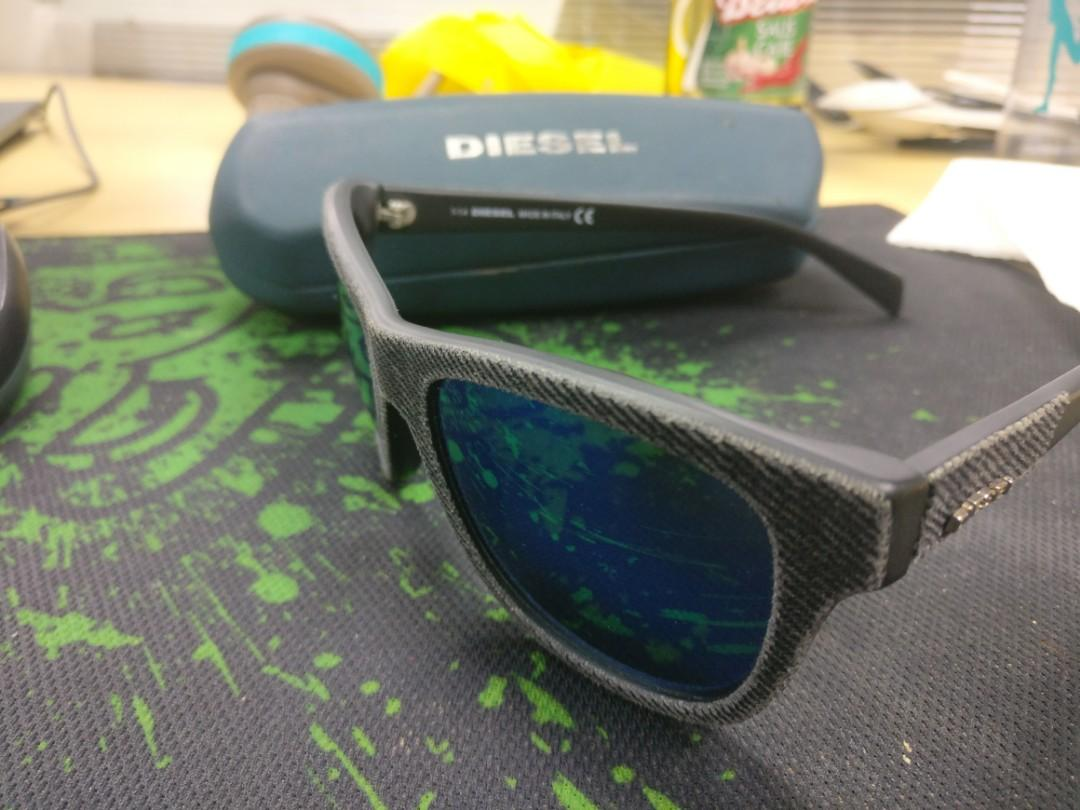 Diesel denim sunglasses